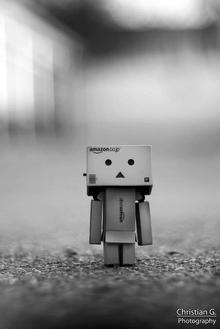 Danbo Black and White