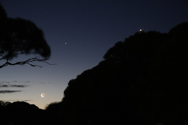 Eucla Moonset