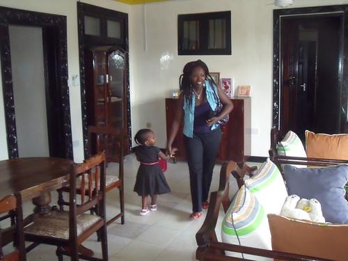 Mama Jane welcomes Fionnghuala