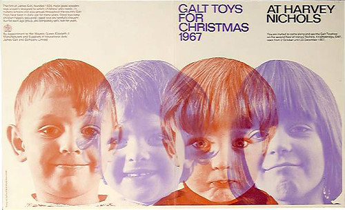 Garland & Ray Carpenter_Galt Toys_Galt Toys at Christmas Leaflet 1967