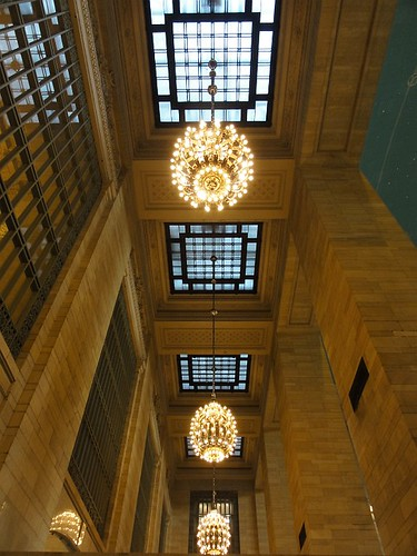 Train Station Chandeliers