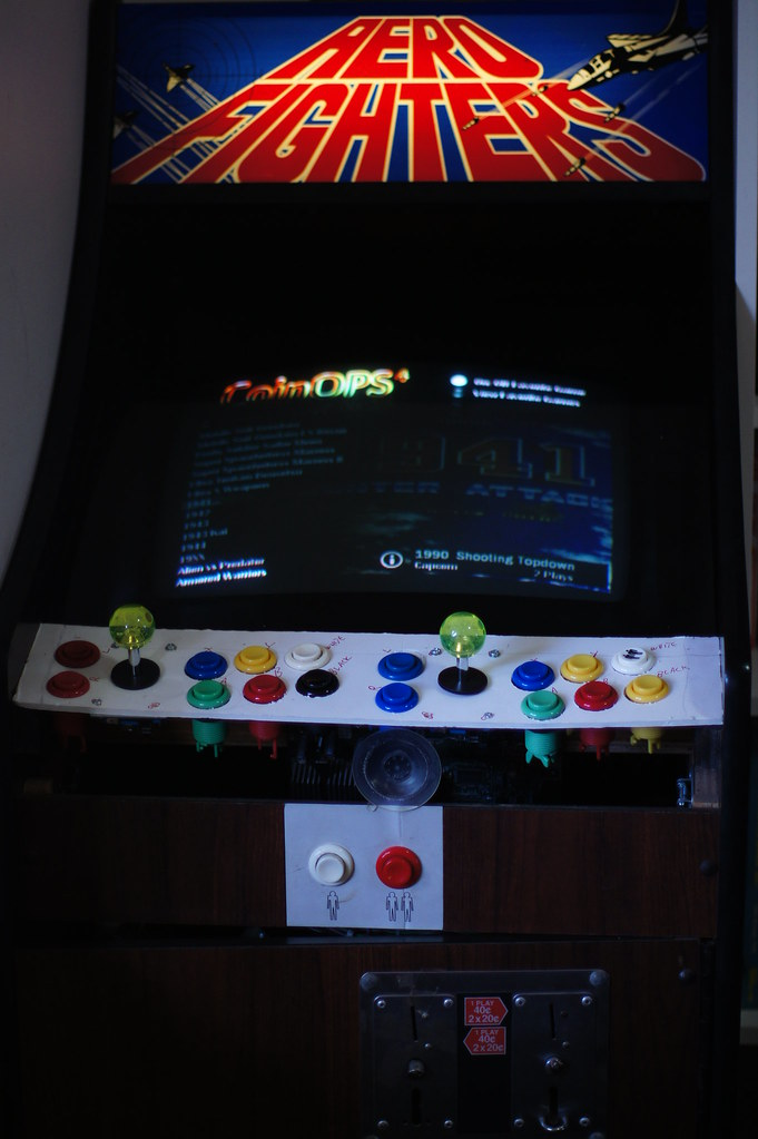Arcade machine prototype new buttons layout  | This is just … | Flickr