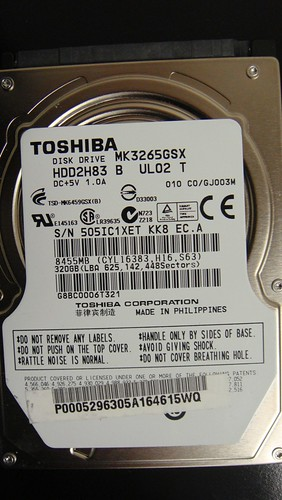 Data Recovery MK3265GSX