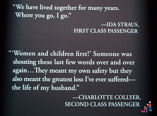 Quotes from the Titanic