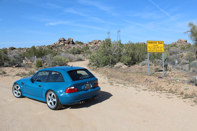 Road Trip —  Phoenix, AZ to Las Vegas, NV | 2002 M Coupe | Laguna Seca Blue | Black | Nothing, AZ