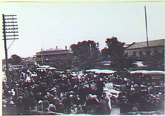 Visit of the Princes of Wales, Gawler Railway Station, 12 July 1920