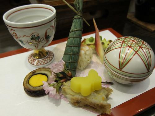 Dinner @Kozanteiubuya  湖山亭うぶや