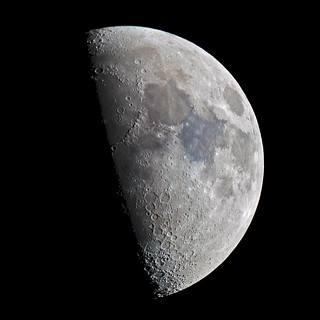 Waxing gibbous Moon 29 April 2012