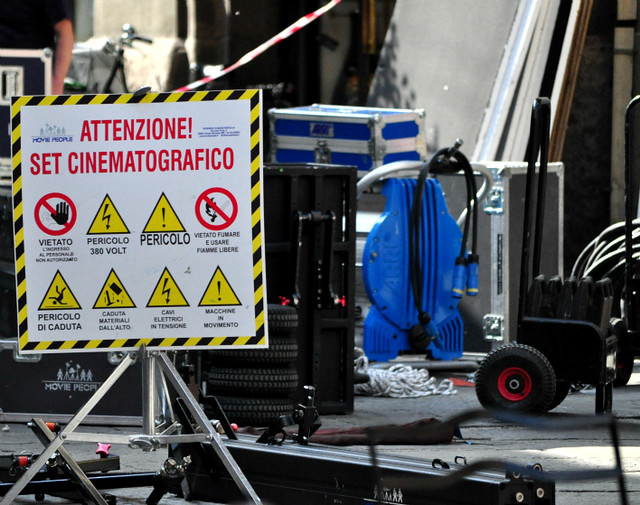 Set cinematografico a Bologna?!