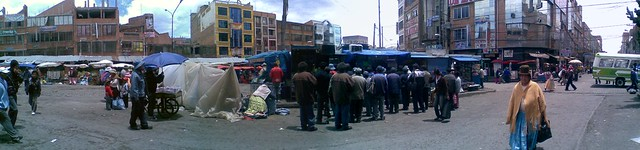 Ceja de El Alto, ciudad de El Alto, Bolivia