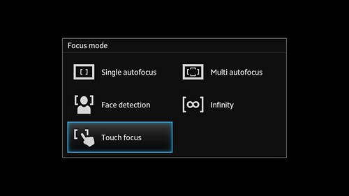 itur Screenshot touch focus Sony Xperia S Review