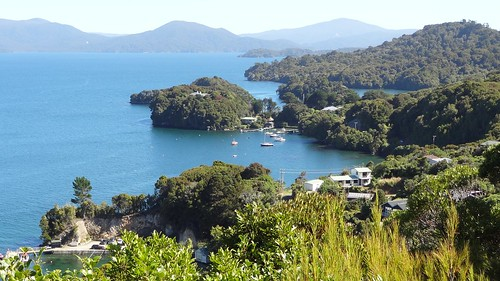 Boat Harbour on Stewart Island From Observation Rock