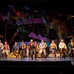 The cast of  PIRATES! (or, GILBERT AND SULLIVAN PLUNDER'D), photo: T. Charles Erickson