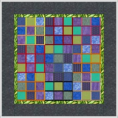sudoku quilt with attic windows