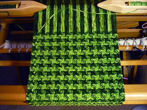 pinwheel weave