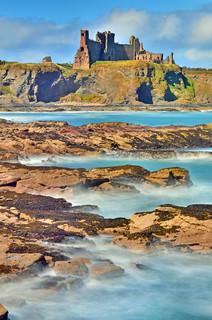 Tantallon Castle from Sea Cliff