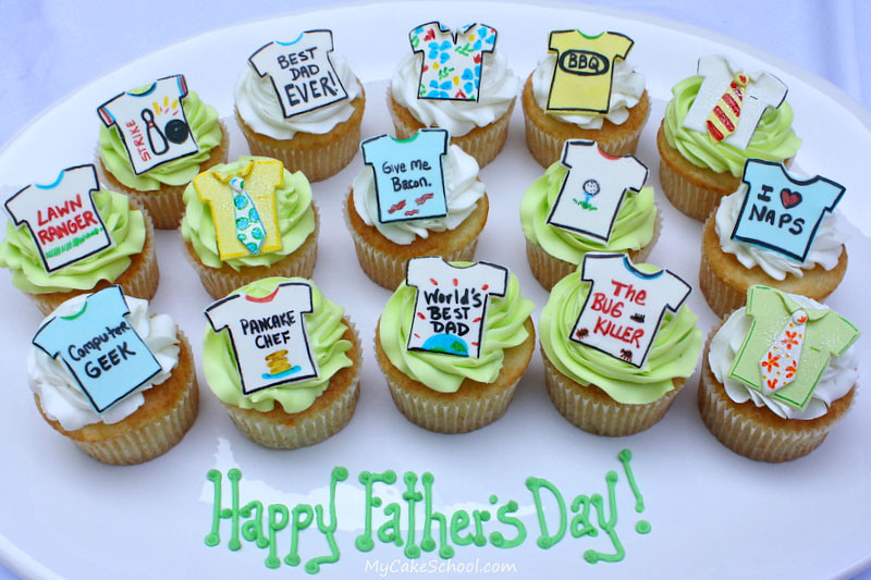 10 Father S Day Cupcakes To Celebrate With