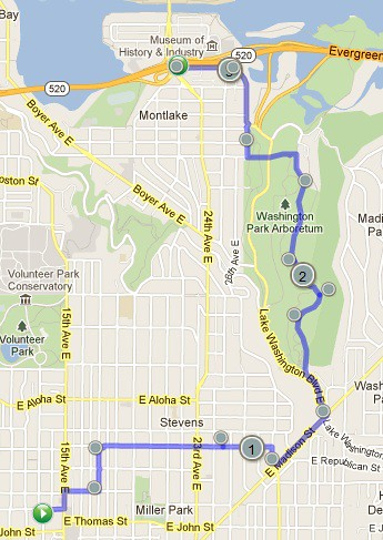 Today's awesome walk, 3.18 miles in 1:04 by christopher575