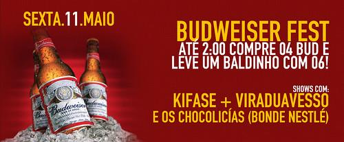 Banner Budweiser Fest by chambe.com.br