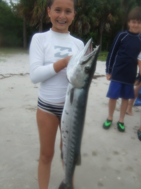 Acadia with a barracuda