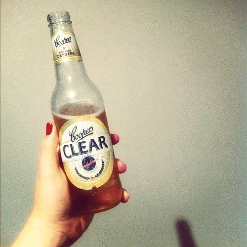 #photoadayjune Day 8 - 6 o'clock. A low carb beer to cap off the week. CHEERS!