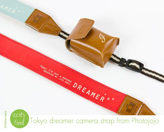 {zesty find} Tokyo dreamer camera strap