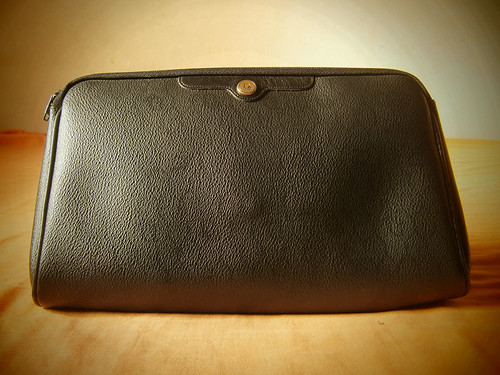 black vintage christian dior clutch pouch manila philippines