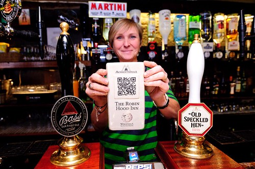 A Qr code site- bar in Monmouth