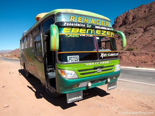 The bus to Potosi