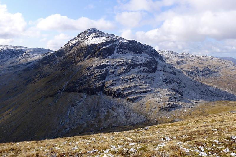 Northern face of Bidein a' Choire Sheasgaich