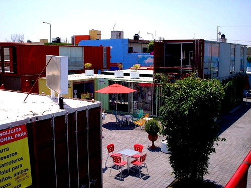 Container City, Cholula, MX (by: vladmix, creative commons license)