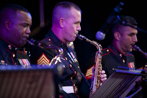The US Marine Corps Forces, Pacific Band.