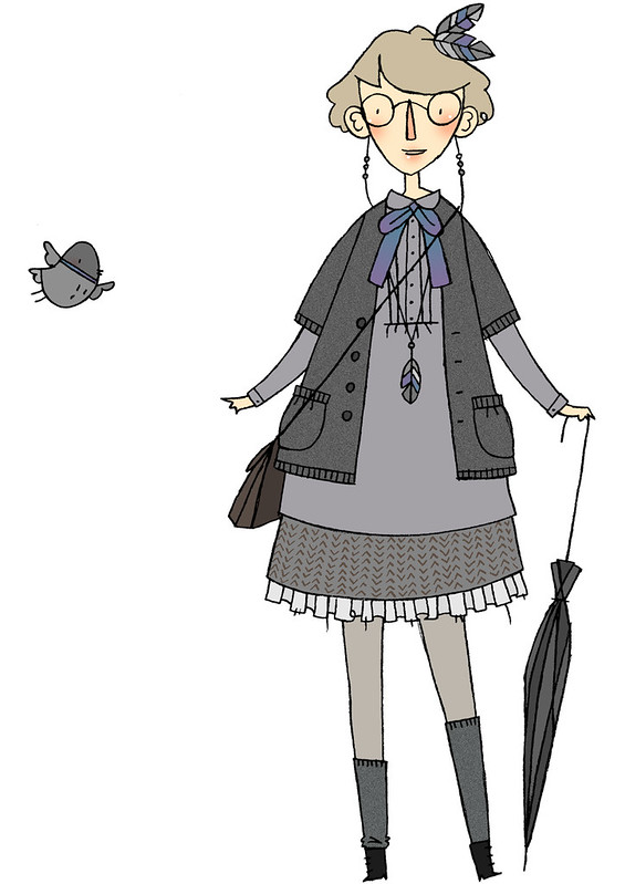 Pigeon Girl outfit