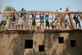 Anna Heringer, Eike Roswag - METI School in Rudrapur, Bangladesh - Construction 01.jpg