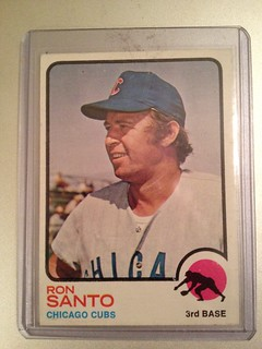1973 Topps Ron Santo