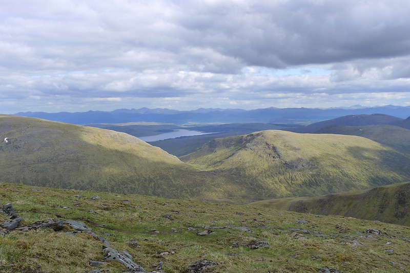 Loch Ericht and the Perthshire Hills