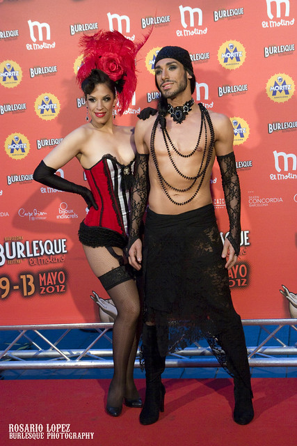 Photocall II Festival Internacional de Burlesque El Molino