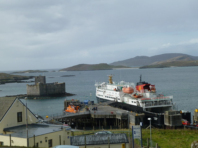 Calmac Ferry at Castlebay
