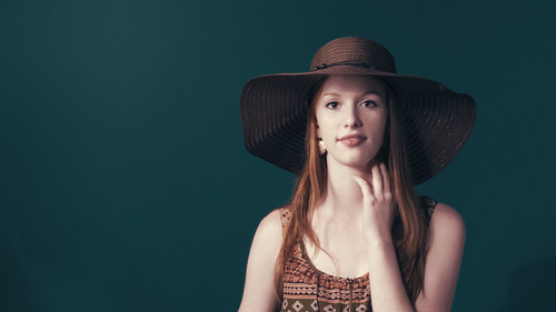 • Portrait with the hat •