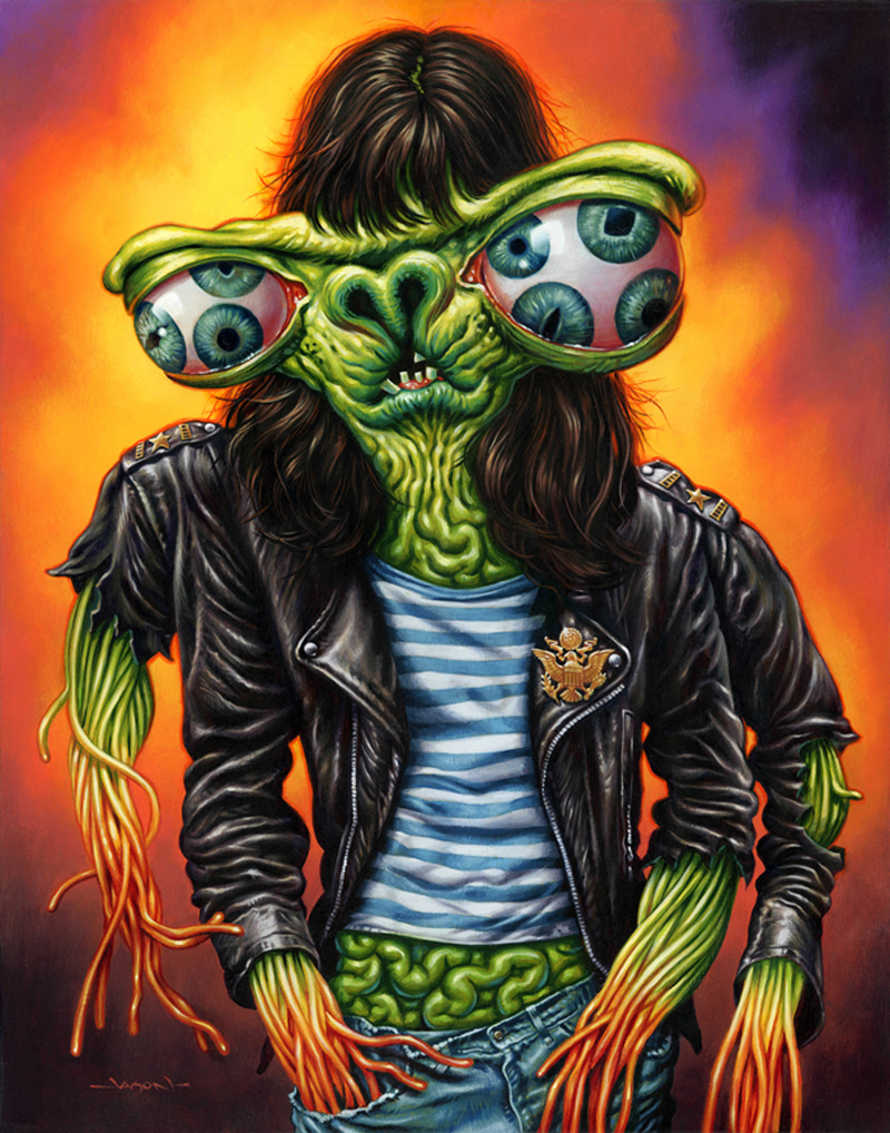 Jason Edmiston - (Monsters Of Rock) Joey