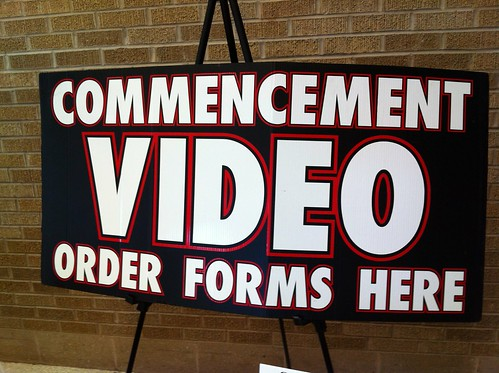 Commencement Video Order Forms Here