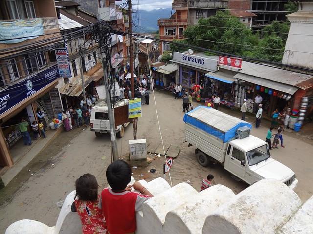 Cidade de Tansen, Nepal