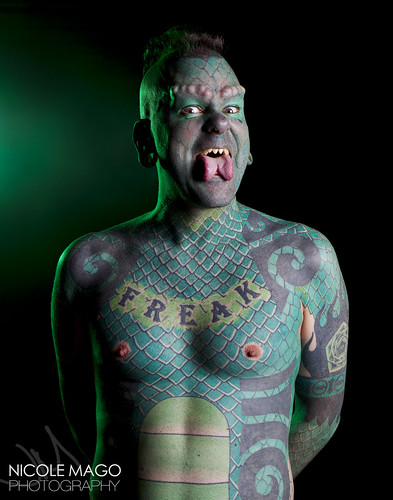 "Erik Sprague - ""The Lizardman"""