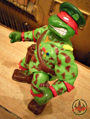 Mutant Military  TEENAGE MUTANT NINJA TURTLES :: RAPH, THE GREEN TEEN BERET vi (( 1991 ))
