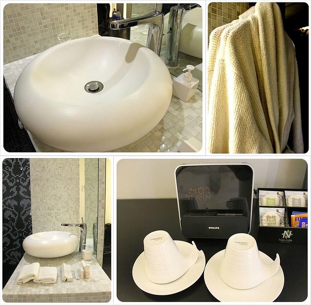 wanderlust hotel singapore sinks and bathrobes