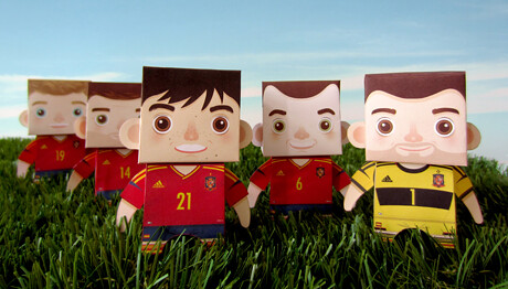 Selección española 2012 by ideasconalas