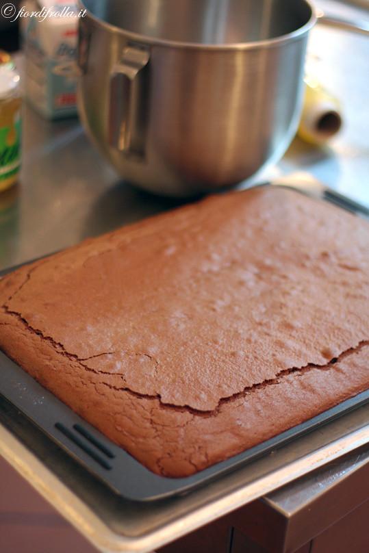 La torta tenerella cotta