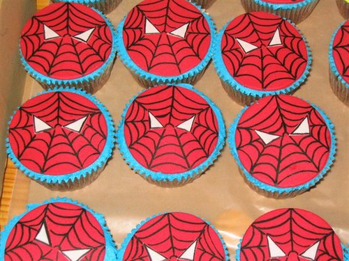 SpidermanCupcakes