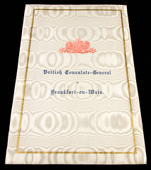 British Consulate of Frankfurt-am-Main (cover)