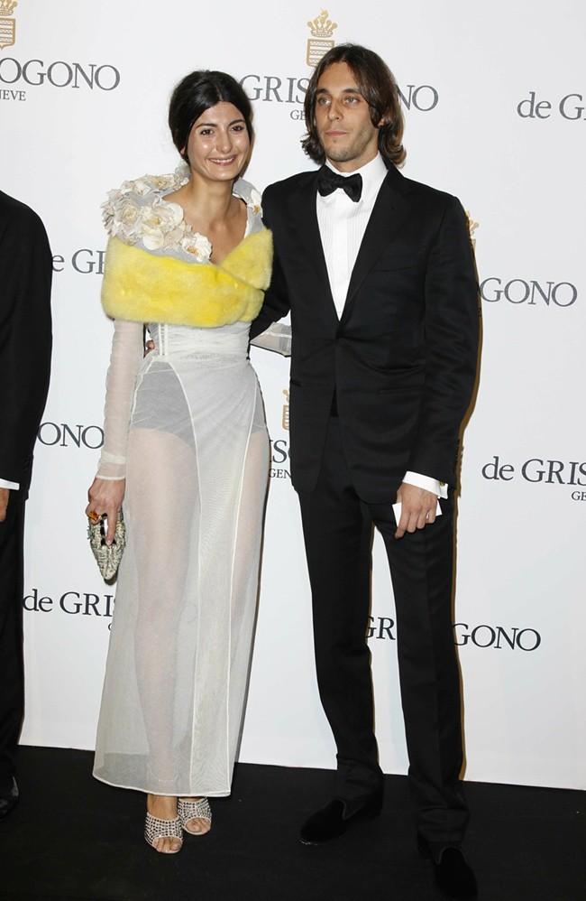 8 - Giovanna Battaglia und Vladimir Restoin Roitfeld de GRISOGONO Party, Cannes,23.Mai